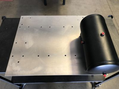 Mounting Plate For Air Tanks